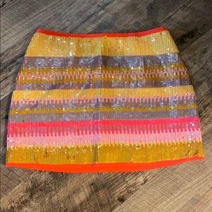 UMGEE neon sequin skirt